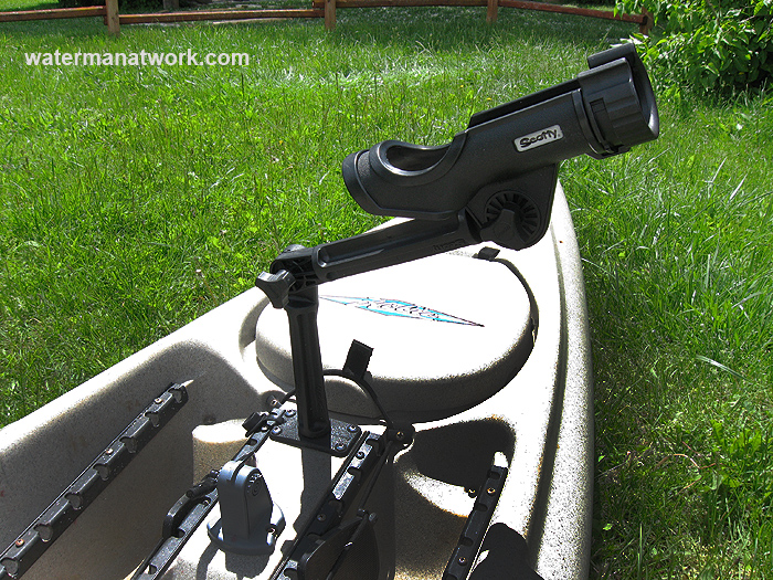 Install A Kayak Rod Holder