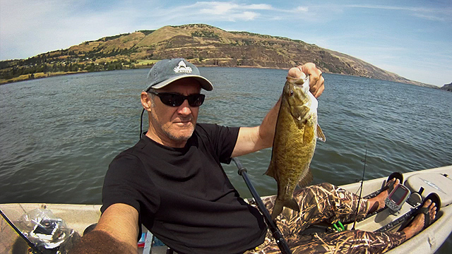 Click HERE for Columbia River Smallmouth Bass Fishing video