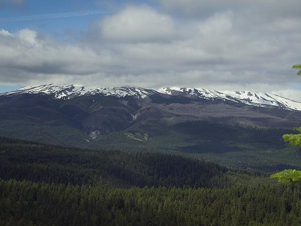 Cloudy Mt. Hood