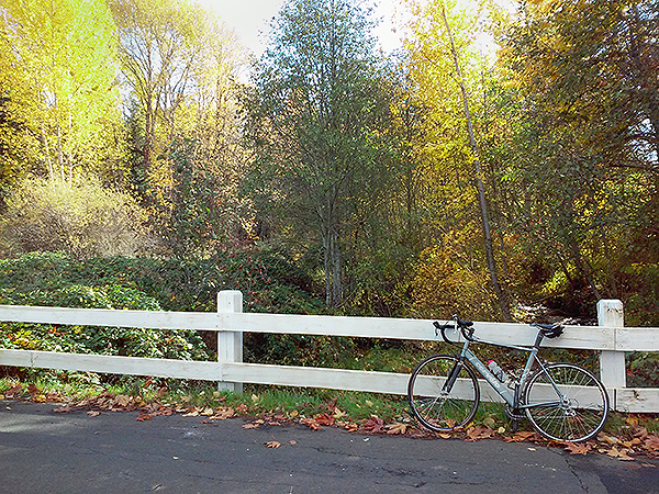 Autumn cycling in the Columbia River Gorge