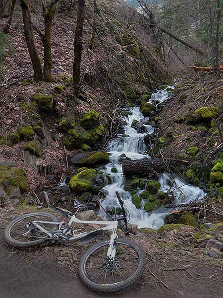 A snowmelt creek in the Cascade Mountains