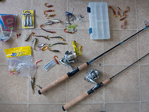 smallmouth bass fishing - rods and reels, Fishing Rod