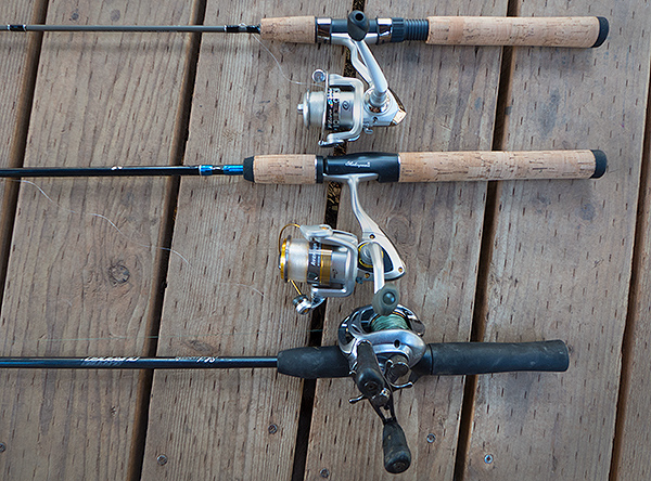 smallmouth bass fishing rods and reels