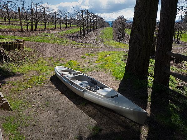 The kayak is ready to go. The 2016 fishing season starts tomorrow!