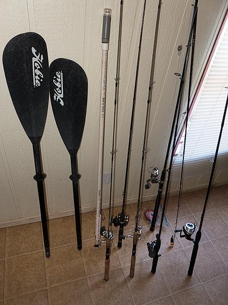 Gearing up for salmon fishing season