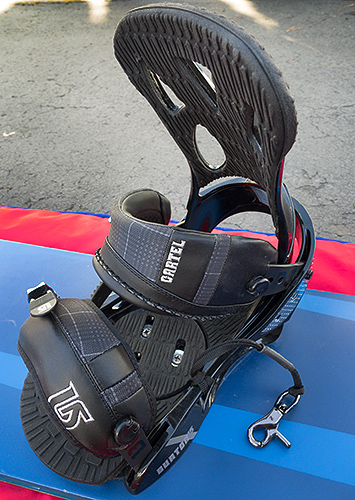 Burton Cartel bindings