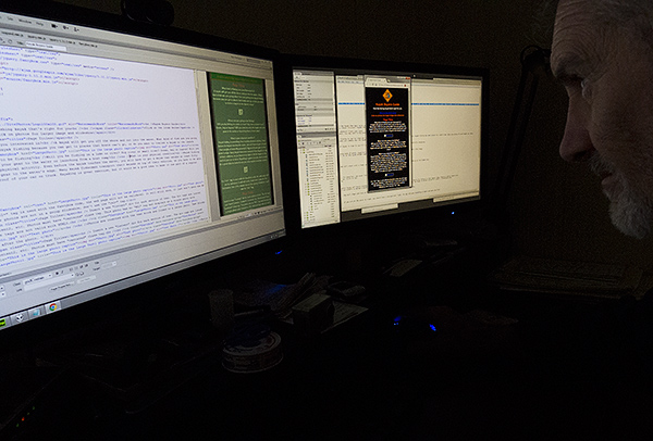 Working on the watermanatwork.com website