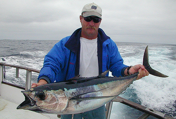 Albacore fishing aboard the Voyager