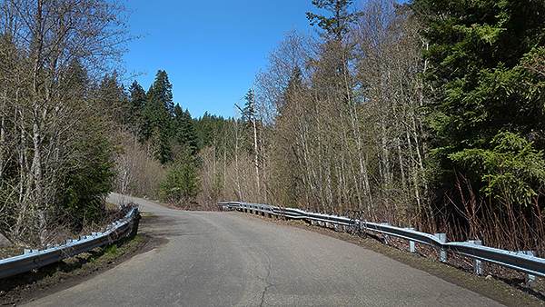 Spring bike riding on Pacific Northwest back roads