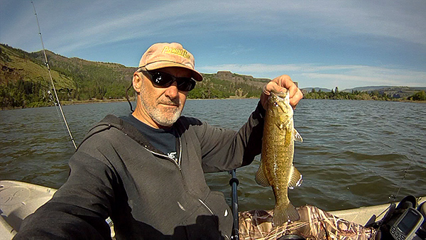 Columbia River smallmouth bass