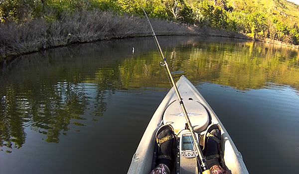 Changing water levels makes for challenging fishing conditions