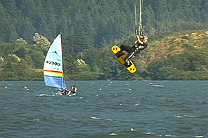 Click HERE for Columbia River kiteboarding video
