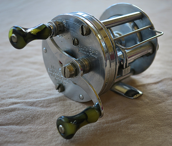 Antique South Bend 550 fishing reel