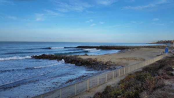 Warm Water Jetty in Carlsbad, CA