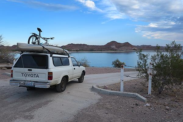 Senator Wash Reservoir near Yuma, AZ