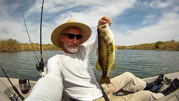 Click HERE for Colorado River Kayak Fishing highlights video on YouTube