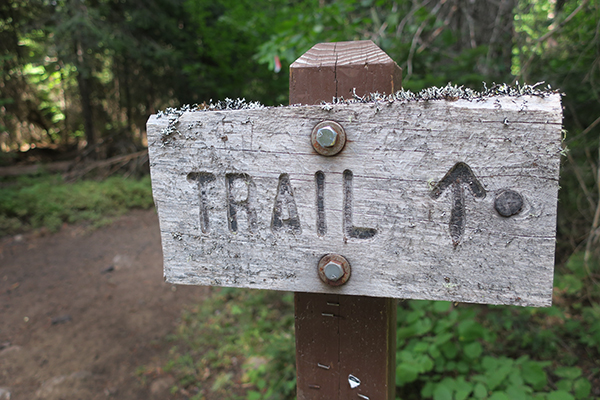 A great place where the trails have no names