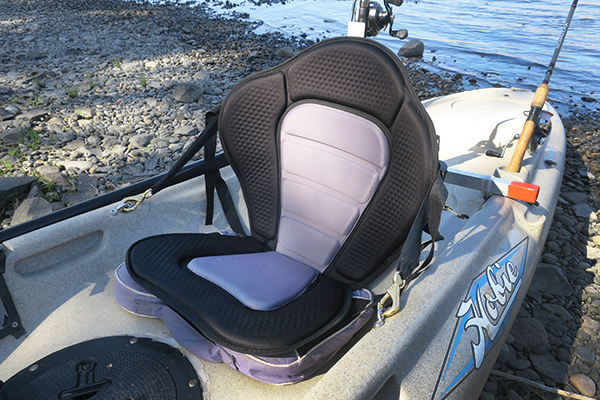 Upgraded modified Chinese kayak seat