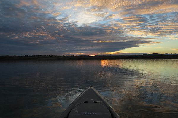 Colorado River sunrise