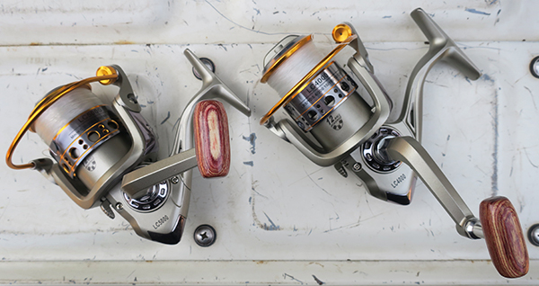 Spinning reels purchased on eBay
