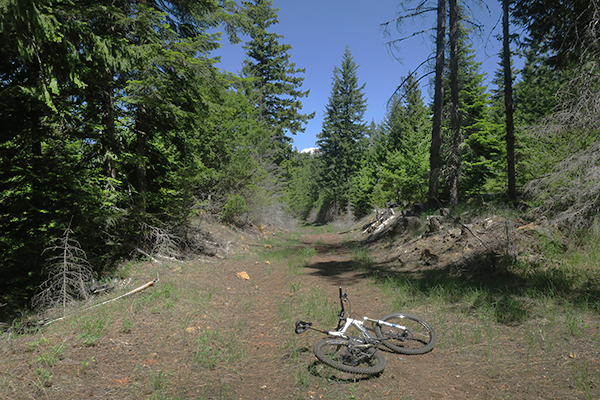 Cascade Mountain bicycle riding