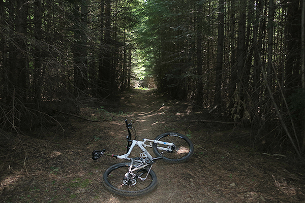 Dark Cascade Mountain bike trail