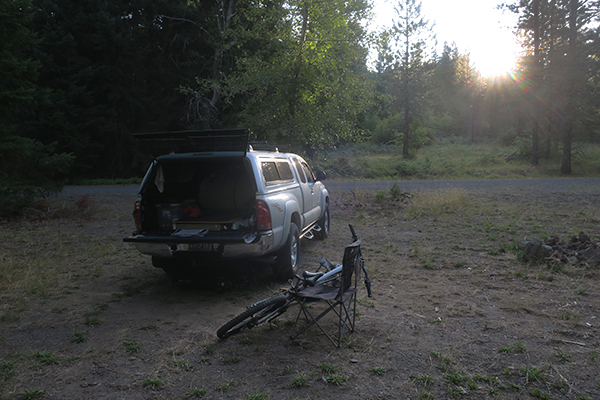 Last morning of riding at the watermanatwork.com Cascade Mountain bike camp