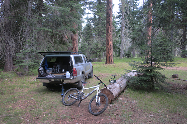 watermanatwork.com mountain bike camp in the Cascade Mountains