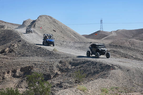 Razer ATVs in the southwest Arizona desert
