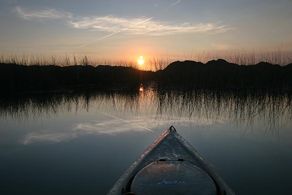 Colorado River sunrise