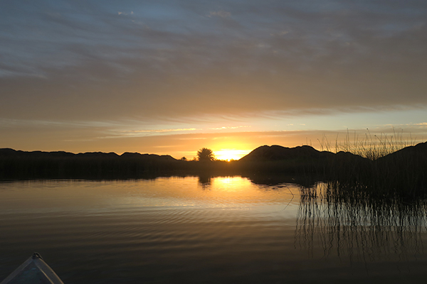 Sunrise over the Colorado River 11-23-20