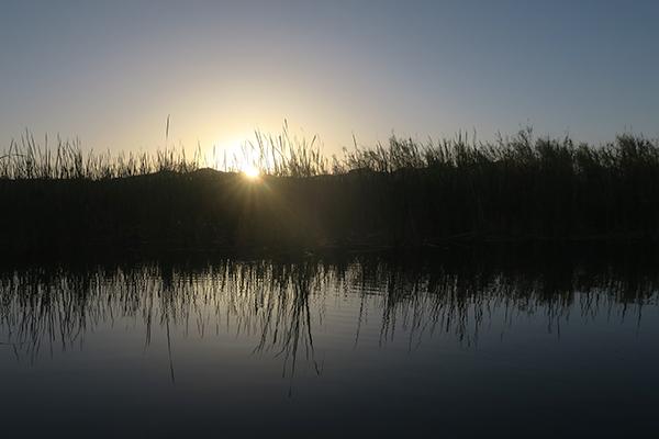Sunrise on the Colorado River