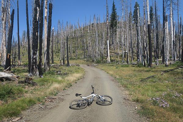 Dusty Cascade Mountain road