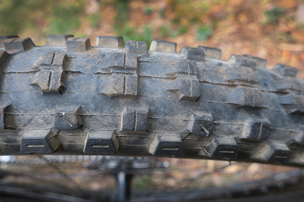 New rear tire on the Giant Trance
